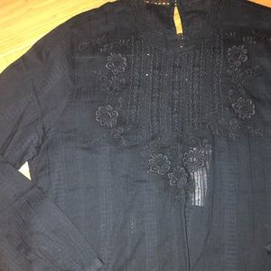 New Abercrombie And Fitch medium blouse